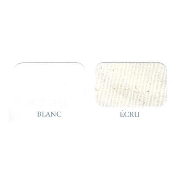 Coton gratté Blanc ou écru 140g/m² en 2.60m