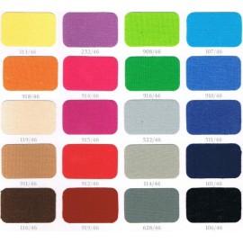 Coton gratté Couleurs 165g/m² en 2.60m- à la pièce