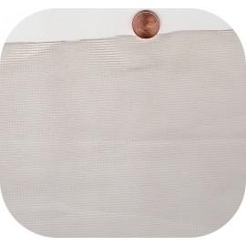 Tulle 2x2 blanc à la coupe (ml)
