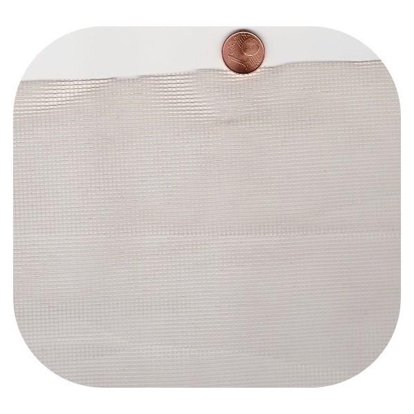 Tulle 2x2 blanc à la pièce (50 ml)