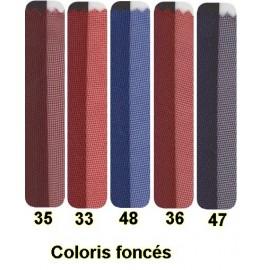 VOILE DECOR M1 coloris foncés - A LA COUPE