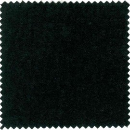 coton gratte noir en 3m de large, 160g/m²
